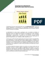 Alim Como Practica Social - d Los Hominidos a La Soc. Postind.