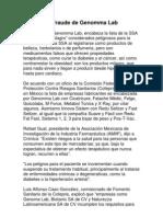 El Fraude de Genoma Lab