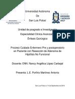 PCE Adenoma de Hipofisis No Funcionante II