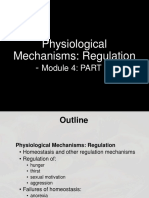 Physiological mechanism of regulation