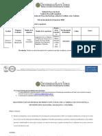 Ficha de Inscripción Experiencia Significativa Desarrollo Comunitario Diligenciado