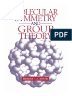 Molecular Symmetry and Group Theory - Carter