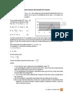 Dterminación tamaño de muestra Estimación media Pob.docx