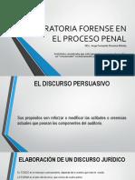 Oratoria Forense Proceso Penal