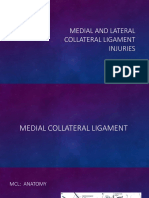 Knee Mcl and Lcl Injuries