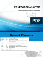Part B_System of Equations for Pipe Network