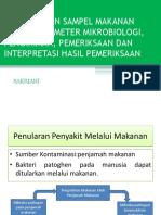 03 Pengambilan Sampel Makanan Untuk Parameter Mikrobiologi Pengiriman