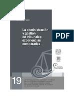 La Administracion y Gestion de Tribunales, experiencias comparadas.pdf