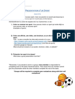 les sports - final project v2