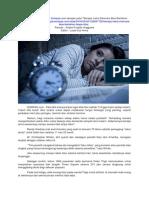 Berapa Lama Manusia Gak Tidur