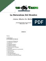 Jacques de De Mahieu - La Naturaleza Del Hombre