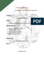 Informe Final Electricas Presentacion