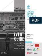 Doors Open Denver 2018 Event Guide