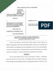 Motion to Assume Jurisdiction in the Fraternal Order of Police et al. v. Metro Gov't. et al. case