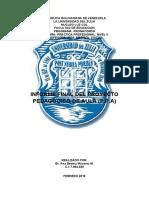 INFORME DE Práctica Profesional Nivel II. ANA