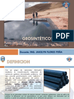 Semana 15 Geosintéticos