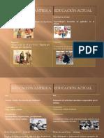 Cuadro Comparativo de Educacion Antigua y Actual