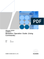 iManager M2000 V200R013 Mediation Operation Guide(Using Commands).doc