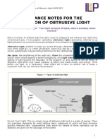 Guidance Notes for the Reduction of Obtrusive Light