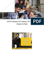 CA CPT Classes ,CPT Classes, CPT Coaching Classes in Pune