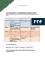 Niveles de Prevención y Metodo Epidemiologico