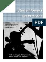 Stone Flowers Report 2014