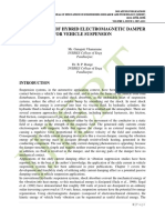 PERFORMANCE OF HYBRID ELECTROMAGNETIC DAMPER FOR VEHICLE SUSPENSION