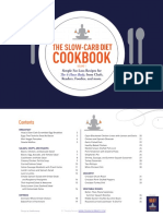 slow carb cookbook