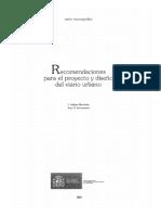 Recomendaciones Para Proyecto y Diseño Urbano_Ministerio de Fomento 2003