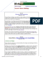 Classical Chinese Buildings