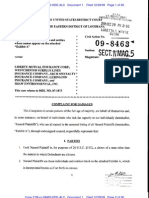 BROOKS v. LIBERTY MUTUAL INSURANCE CORPORATION et al Complaint