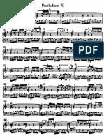 Bach WTC Praeludium 10