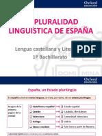 La pluralidad lingÅ°stica de Espa§a