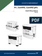 Grunfos Conlift  data sheet