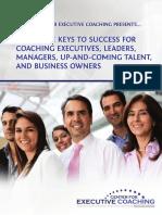CEC 3 Keys to Success