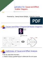 Ishikawa diagram and scatter digram
