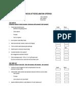 Checklist Keselamatan 2