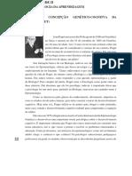 Concepção Genético-cognitva Da Aprendizagem j. Piaget