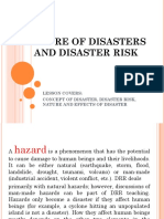 1 a REVIEW Nature of Disasters and Disaster Risk