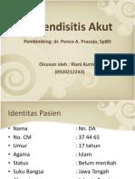 Presus Appendicitis (Riani Kurniati)