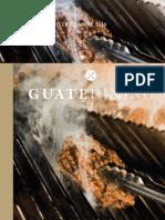 Colaboración en la revista Guatedining - Edición 44 - Agosto 2018
