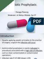 Antibiotic Prophylaxis - Tino