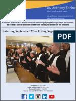 SAS Weekly Bulletin 9-22