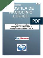 Apostila de Raciocínio Lógico Professor Joselias