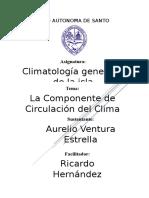 Componente de Circulación Del Clima