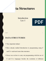 Data Structure Lecture 1