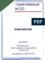 FALLSEM2018-19 CSE2001 TH SJT502 VL2018191005001 Reference Material I 1.3 Machine Instructions V2