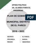 Plan de Gobierno Amazonas 13