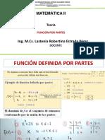 Clase Teoría -Función Por Partes 27 de Agost - 01 de Sept.