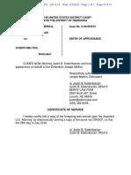 Joe Melton Notice of Attorney Appearance - Defendant 10